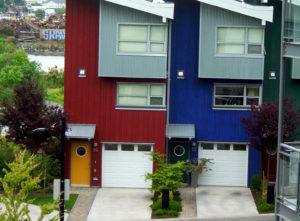 Fastighetsvärderingar, hus, himmel