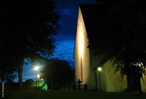 Fastighetsvärdering, övriga fastigheter. Öregrunds kyrka. Foto: Robotpolisher