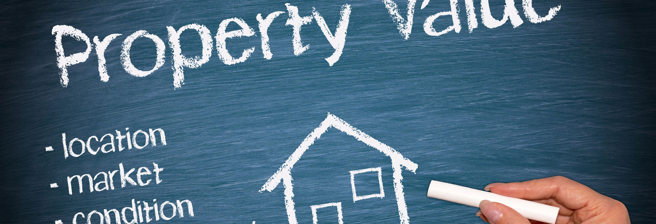 Property value, location, market, condition