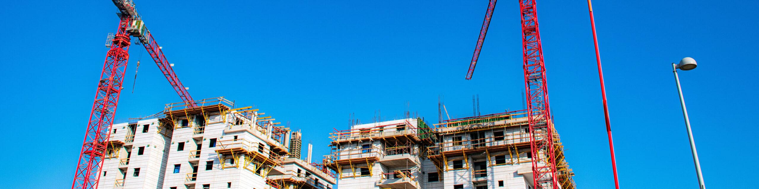 Fastighetsvärdering, exploateringsfastigheter. Byggarbetsplats. Foto av: Ri Butov